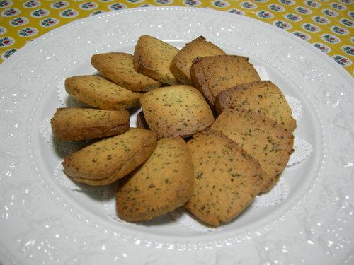 紅茶のアイスボックスクッキー