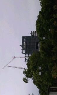 姫路城なう